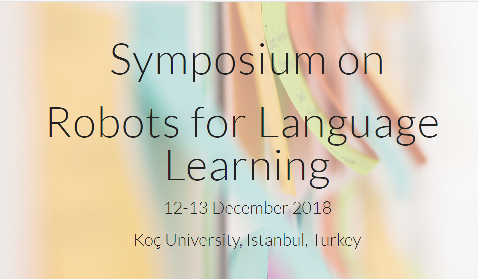Symposium on Robots for Language Learning