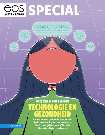 Special Issue published by EOS magazine on Health and Technology highlights some research projects of AI.UGent
